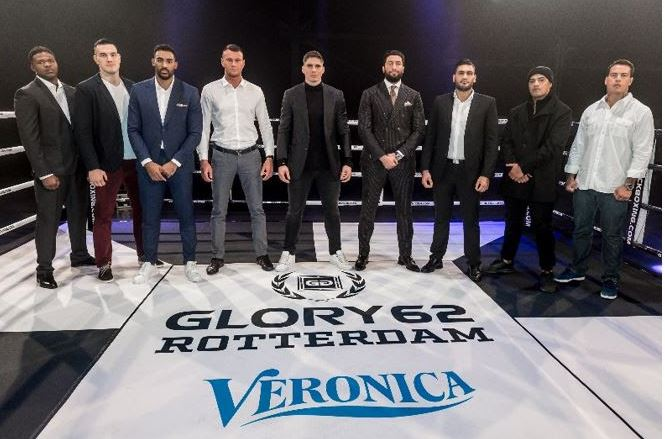 Glory zwaargewicht toernooi Veronica